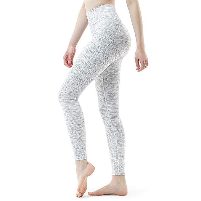 Sólido Yoga Slim Fit Pantalones Leggings,Leggings Deportivos ...