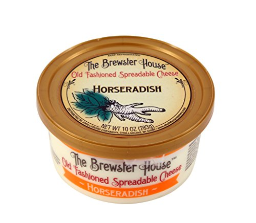 (Brewster House - Horseradish Cheese Spread - 10 oz.)