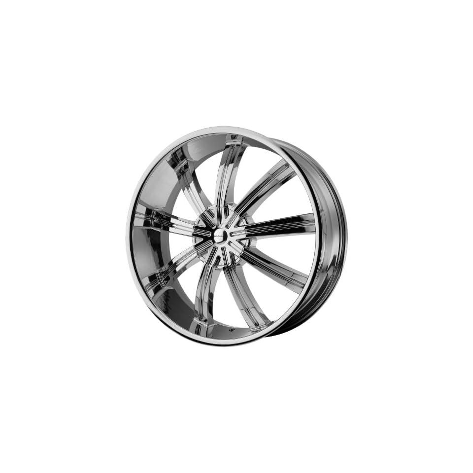 24x9.5 KMC Widow (Chrome) Wheels/Rims 6x135/139.7 (KM67224966235)