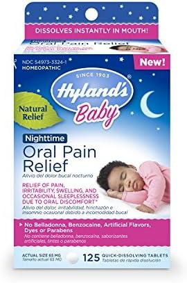 Hylands Nighttime Chamomilla Discomfort Irritability product image