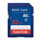 SanDisk SDSDB-032G-FFP 32 GB Secure Digital SD Card - Frustration-Free Packaging (Label May Change)
