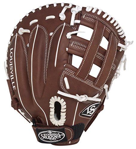 Louisville Slugger FGXPBN5 Xeno Pro Brown Fielding Glove (First Base), Left Hand Throw (Slugger First Base Glove Louisville)
