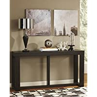 Watson Dark Brown Wood Sofa Table
