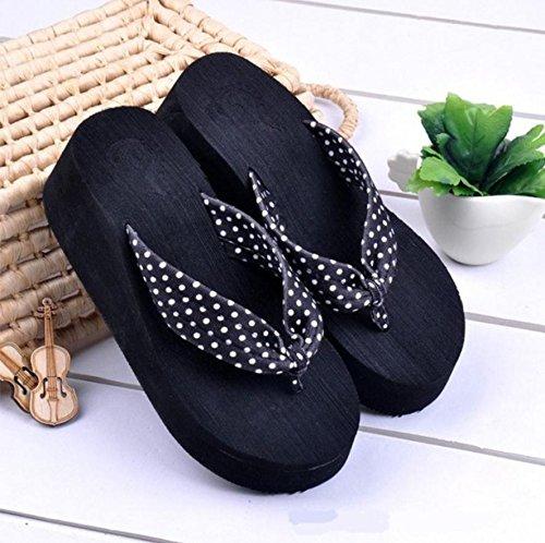 casual da spiaggia ciabatte pantofole e alta sandali 6 donna moda Mhgao W1Sx8nF8
