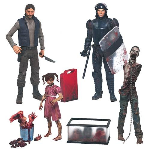 The Walking Dead Comic Series 2 Action Figure Set by Unknown