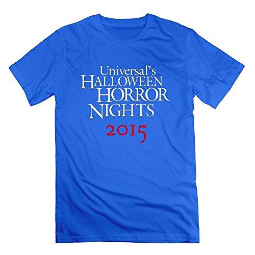 Men's Halloween Horror Nights T-shirts Small RoyalBlue