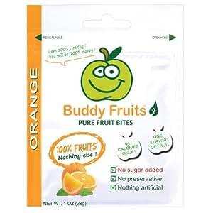 Buddy Fruits Fruit Bites, Pure, Orange 1 Oz.