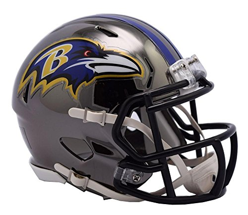 (Riddell BALTIMORE RAVENS NFL SPEED Full Size REPLICA Football Helmet )
