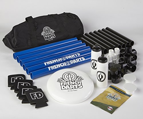 (French Darts - OFFICIAL Set - Includes Official Rules, Disc, Bottles, Carrying Case & More...)