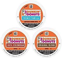 Dunkin' Best Sellers Coffee Variety Pack, 60 K Cups for Keurig Coffee Makers