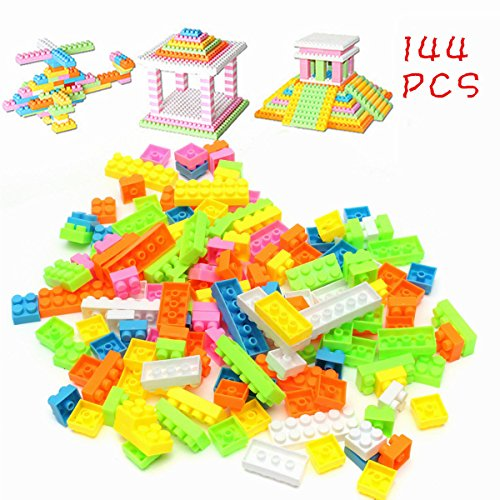 144pcs Plastic Building Blocks Bricks Children Kids Toy Puzzle Educational Gifts (Monkey Kit With Sound)