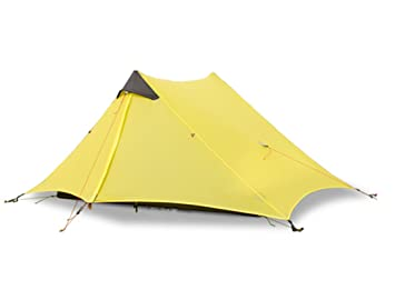 CreHouse Ultralight Waterproof Tent 2 Person C&ing Backpacking Pyramid Tent15D Silicone-Coated Nylon  sc 1 st  Amazon.com & Amazon.com : CreHouse Ultralight Waterproof Tent 2 Person Camping ...