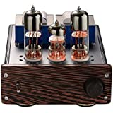 Nobsound Mini 20-Watt 6N6+6N2 Vacuum Tube Amplifier SEPP Class AB Desktop Stereo Power Amp HiFi Home Audio Sound System (DJ418)
