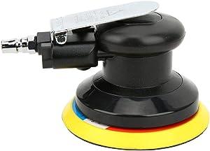 Air Sander,Vacuum Cleaner Pneumatic Polishing Machine,10000RPM Pneumatic Sander 5-inch Air Sander Mini Polishing Machine with 180# Suede Sandpaper