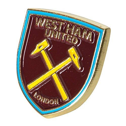 West Ham United Crest Pin Badge - One (West Ham United Football Club)