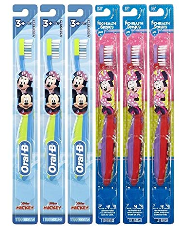 Oral-B Mickey and Minnie Mouse Kids Toothbrush