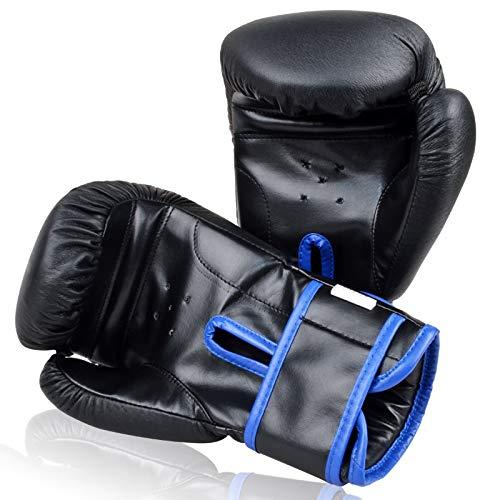 Easy Go Shopping Guantoni da Boxe, Kickboxing, per Adulti e Bambini Muay Thai
