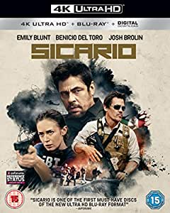 Sicario [4K Ultra HD] [2016] [Blu-ray]
