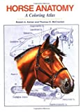 img - for Horse Anatomy: A Coloring Atlas by Robert A. Kainer (31-Dec-1998) Spiral-bound book / textbook / text book