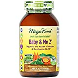 (US) MegaFood - Baby & Me 2, Key Nutrients Vital to Prenatal Support of Both Mother & Baby, 120 Tablets