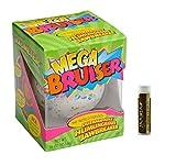 JUMBO JAWBREAKER 1 Pack (16 oz) Sconza 3 3/8'' The Mega Bruiser Individually Boxed with a Jarosa Chocolate Bliss Lip Balm by Jarosa Gifts