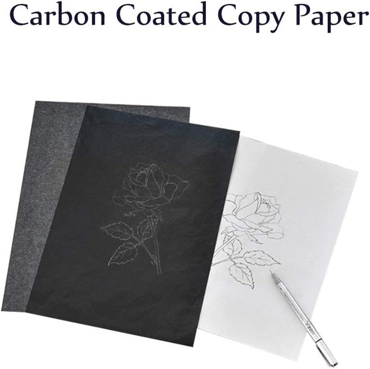 Typewriters and Word Processors Sheets Carbon Transfer Paper Tracing Paper NszzJixo9 10PCS Black Carbon Copy Paper for Hand