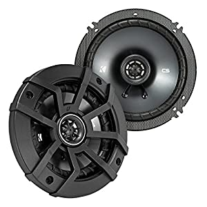 "2 Pair Car Speaker Package Of 2x Kicker CSC654 600-Watt 6.5"" Inch 2-Way Black Coaxial Speakers + 2x CSC6934 900W 6x9"" CS Series 3-Way Speakers - Bundle Combo With Enrock 50 Foot 14 Gauge Speaker Wire"
