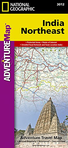 India Northeast (National Geographic Adventure Map)