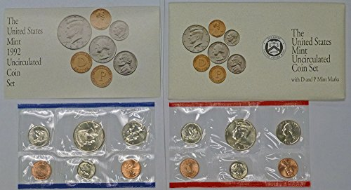 1992 US Mint Uncirculated Coin Set (U92) OGP from US Mint