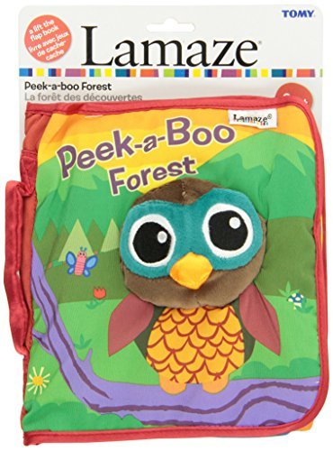 LAMAZE Peek-A-Boo Forest, Fun Interactive Baby Book with Inspiring Rhymes and Stories, Multi, one Size (L27901B)