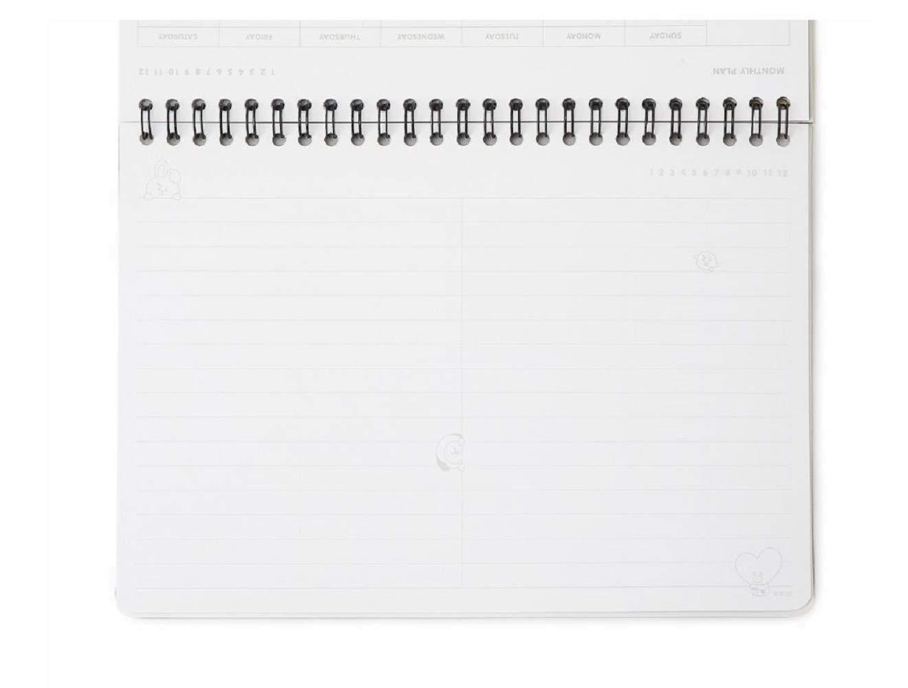BT21 - Agenda mensual: Amazon.es: Oficina y papelería