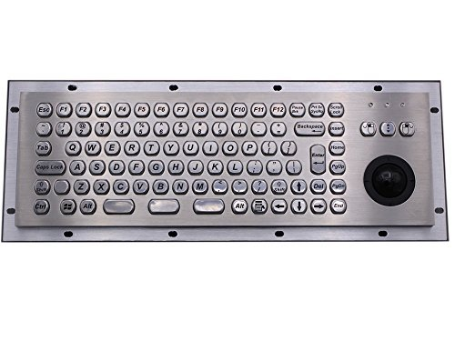 Price comparison product image Metal keyboard atm Keypad Metal trackball Keypad rugged keyboards terminal keyboards vandal proof keypads waterproof industrial