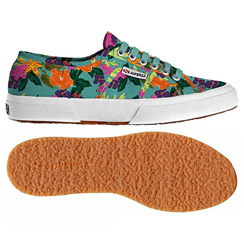 Chaussures Le Superga - 2750-fantasy Cotu - Flowers Field - 40