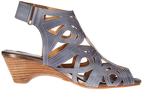 L'artiste Spring Flourish Step Women's Sandal Blue by Denim GLADIATOR IIx5qwrTR