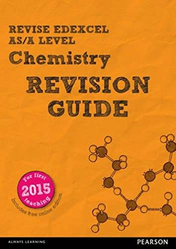 revise edexcel as a level chemistry revision guide with online rh amazon co uk Chemistry Revision Flash Cards cgp as-level chemistry edexcel the revision guide