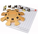 Mexican Train / Chicken Foot Domino Accessory Set – Hub, Train Markers, Scorepad, Instruction Manual for Mexican Train