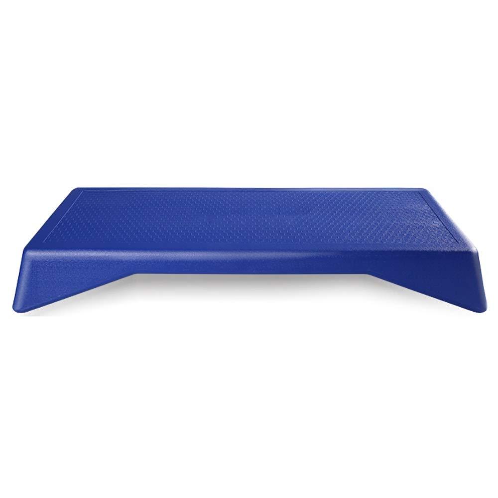 Zhao Li Fitness Pedal Aerobics Home Bodybuilding Gymnastics Gym Dedicated Aerobics Lacing Pedal (Color : Blue, Size : Without feet)