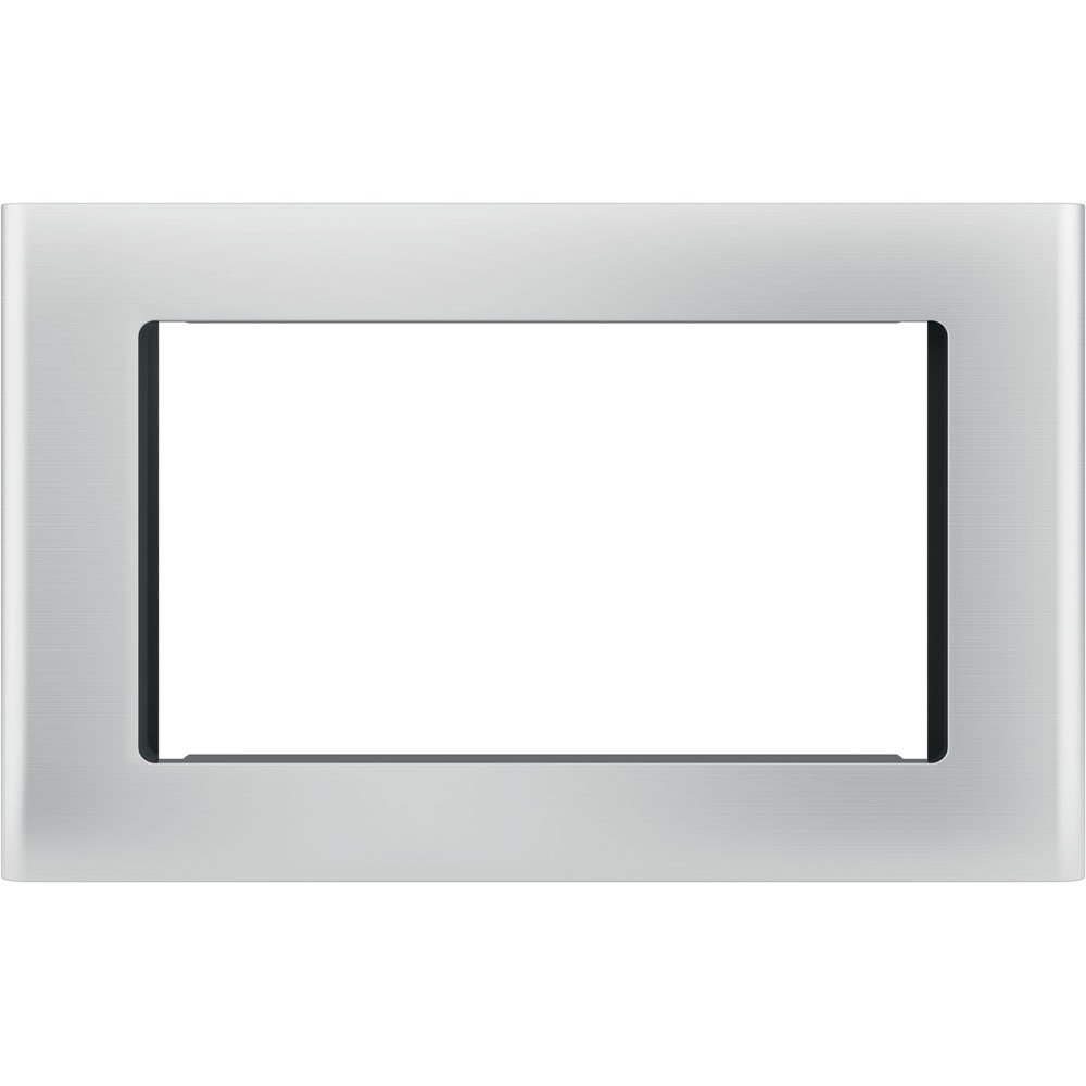 """GE Stainless Steel 27"""" Built-In Microwave Oven Trim Kit"""
