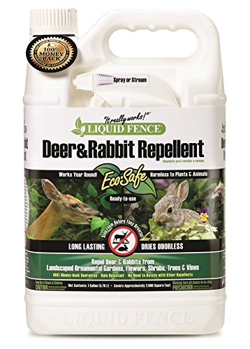 Liquid Fence HG-80109 Ready-to-Use Deer and Rabbit Repellent, 1-Gallon](Liquid Fence Cat Repellent)
