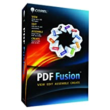 Corel PDF Fusion, Mini-Box, 1u, ENG - Software de gráficos (Mini-Box, 1u, ENG, Inglés, Caja, PC, 250 MB, 512 MB, 1.3 GHz)