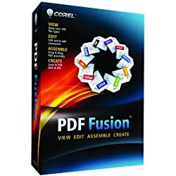 Corel PDF Fusion Document Management Suite for PC