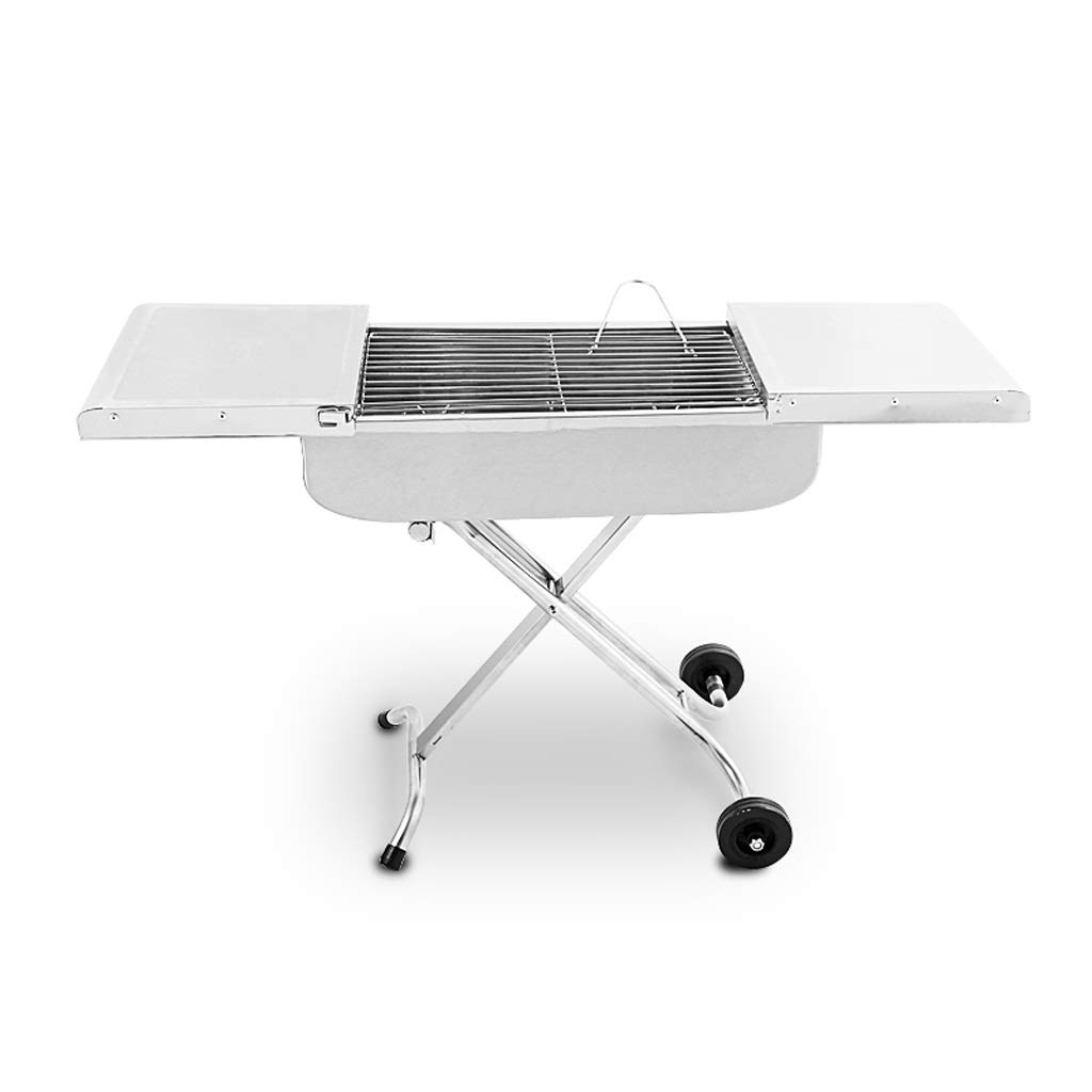 MEI XU Barbecue Grill BBQ Grill - Barbecue Grill Home Stainless Steel Portable Grill Barbecue Stove Charcoal Grill Outdoor