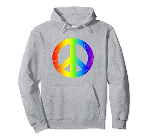 Peace Sign Kids Sweatshirt - 7