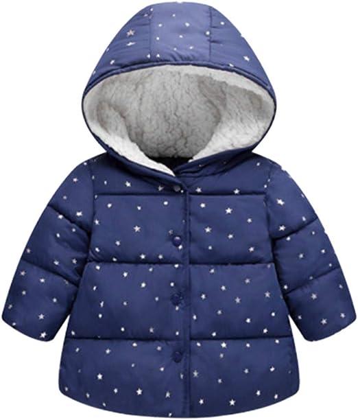 Pollyhb Baby Boys Girls Coat Toddler Kids Grils Boys Cartoon Print Hooded Coat Tops