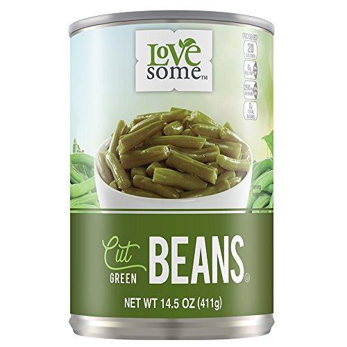 (LoveSome Cut Green Beans, 14.5 Ounce (Pack of 24))