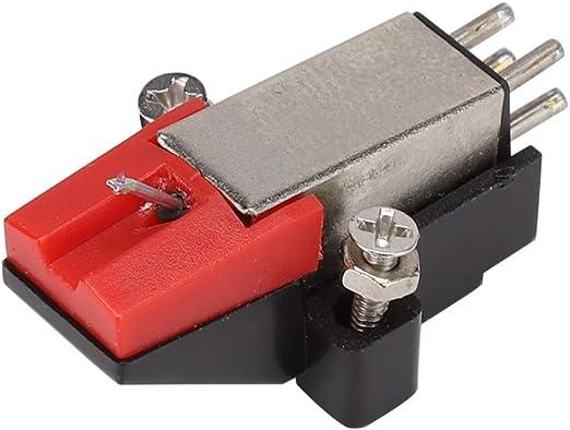 DELMO reproductor de discos de vinilo aguja fonógrafo estilete ...