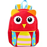 Kids Backpack | Fenrici | Boys | Girls | Toddler | Preschooler | Cute Animal Design | Owl