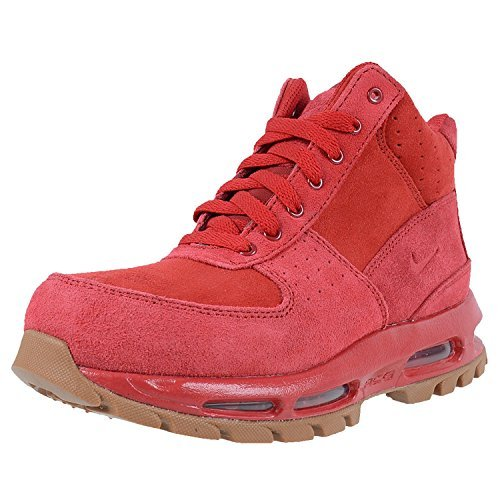 Nike Kids Air Max Goadome GS ACG Boots Gym Red Gym Red Gum Med Brown Size 4.5 Youth