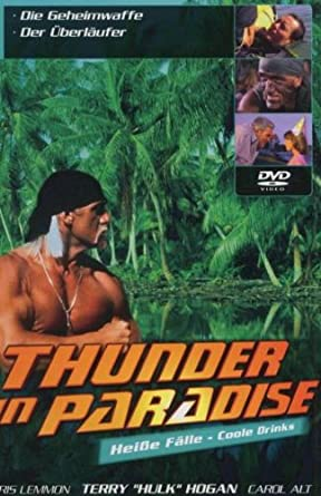 Thunder in Paradise: Heiße Fälle - Coole Drinks, Vol. 07 Alemania DVD: Amazon.es: Chris Lemmon, Carol Alt, Patrick Macnee, Felicity Waterman, Sam J. Jones, Charlotte Rae, Lisa Stahl, Cory Lerios, Chris Lemmon,