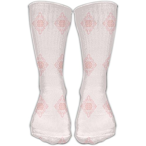Acanthus Scroll With Flower Center Graduated Compression Socks For Women And Men - Best Medical, Nursing, Travel Running Fitness -